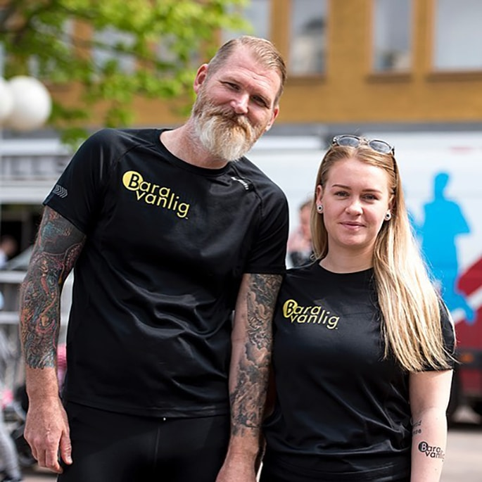 "Niclas and Elin – trainers at ""Just ordinary running"""