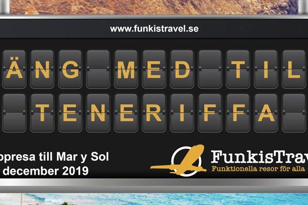 FunkisTravel - Gruppresa till Mar y Sol, Teneriffa