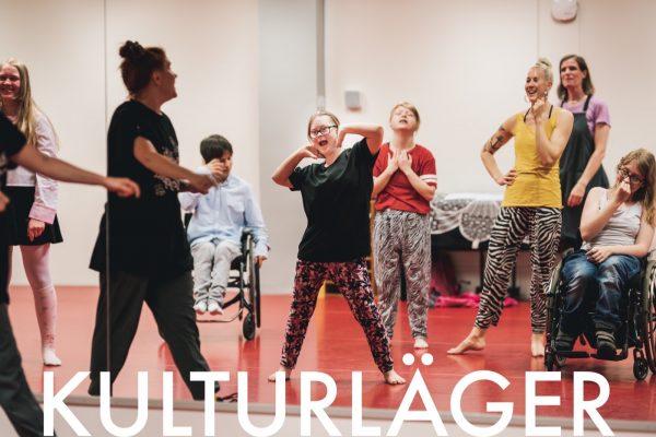 Kulturläger för 7-16-åringar med olika funktionsuppsättningar
